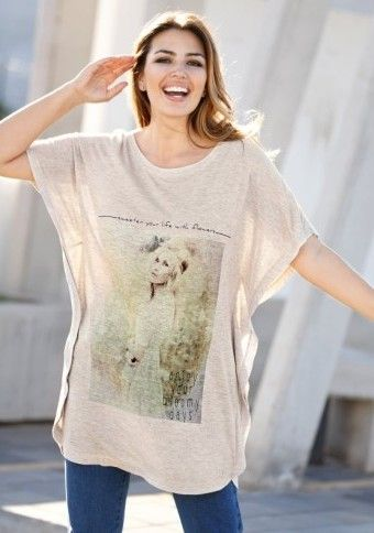 Vzdušné tričko s krátkými rukávy #modino_cz #modino_style #fashion #style #spring #ModinoCZ