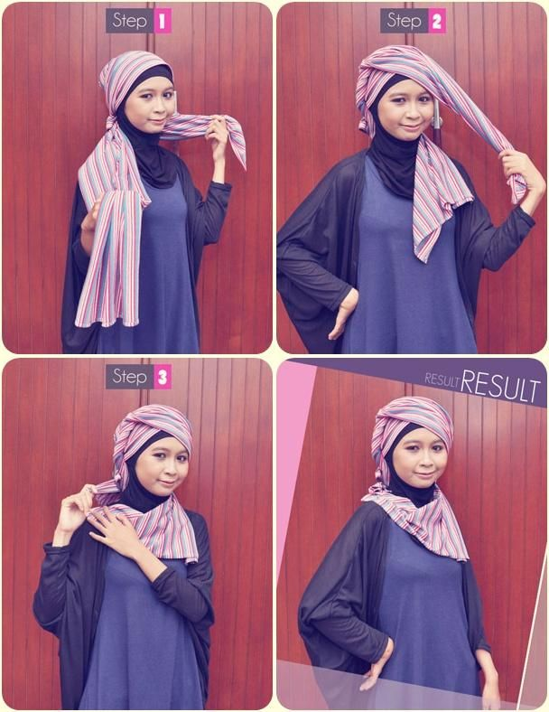 1000+ images about Tutorial Hijab on Pinterest | Shops, Polos and ...