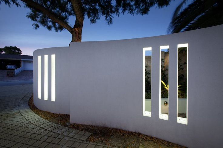 uplighters for enhancing openings in the wall