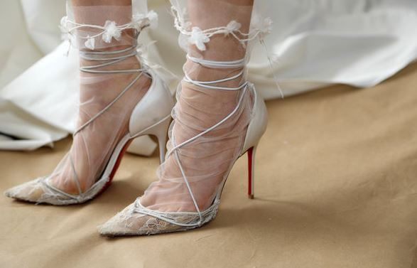 Gli Abiti da Sposa 2015: tutte le Tendenze dalle Bridal Fashion Week Abiti da sposa 2015 tendenze scarpe Marchesa