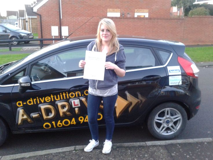 """1ST TIME DRIVING TEST SUCCESS!!!  A huge congratulations to Lana Bird who passed her practical driving test 1st time with only 7 minor driving faults at Northampton Driving Test Centre with the expert guidance of Aidan Checketts of www.adrivetuition.co.uk  01604 930031  #Driving #Adrive #DrivingTest #DrivingSchools #DrivingLessons #DrivingInstructors #Northampton #Daventry #Towcester #Wellingborough #Northants  Lana said """"Good school! Enjoyed the lessons with Aidan. Would definitely…"""