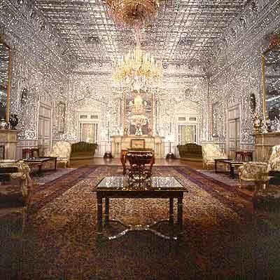 Imperial Palace room - Tehran, Iran