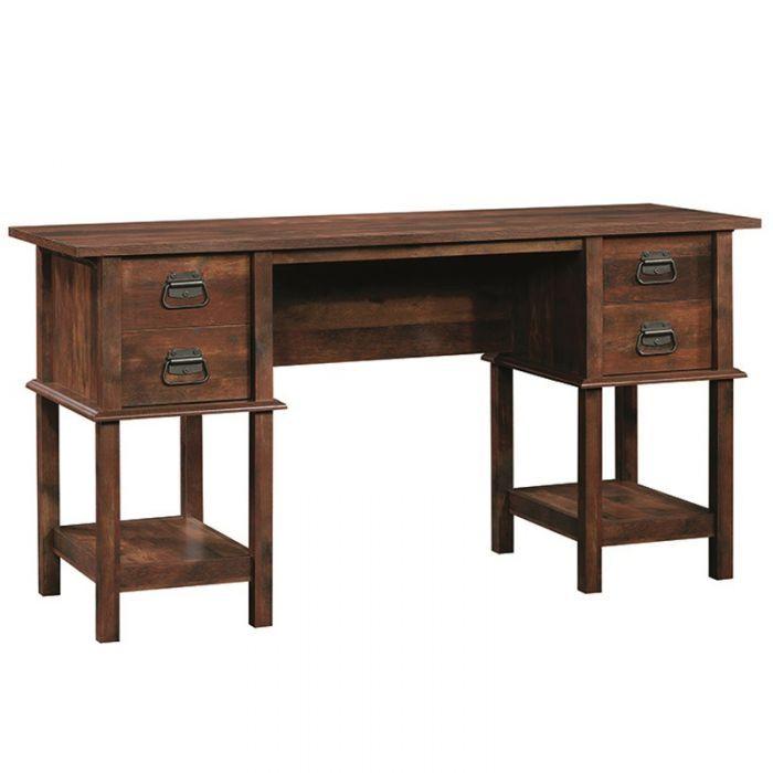 Sauder Viabella Curado Cherry Desk   Weekends Only Furniture and Mattress