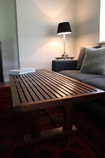 "Charcoal Interiors ""Style in the City"" Blog.  Coffee Table by Charcoal Interiors."
