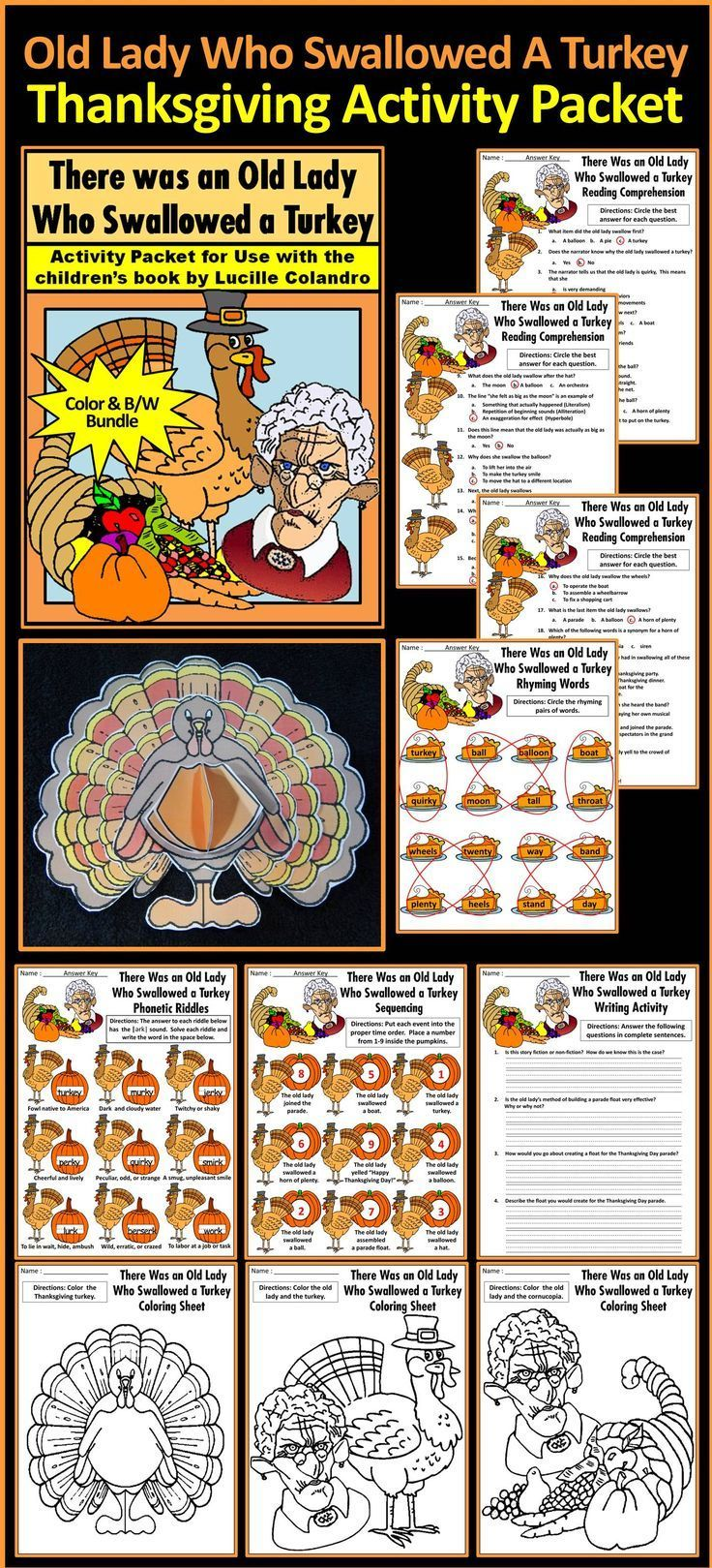 5344 best thanksgiving language arts ideas images on
