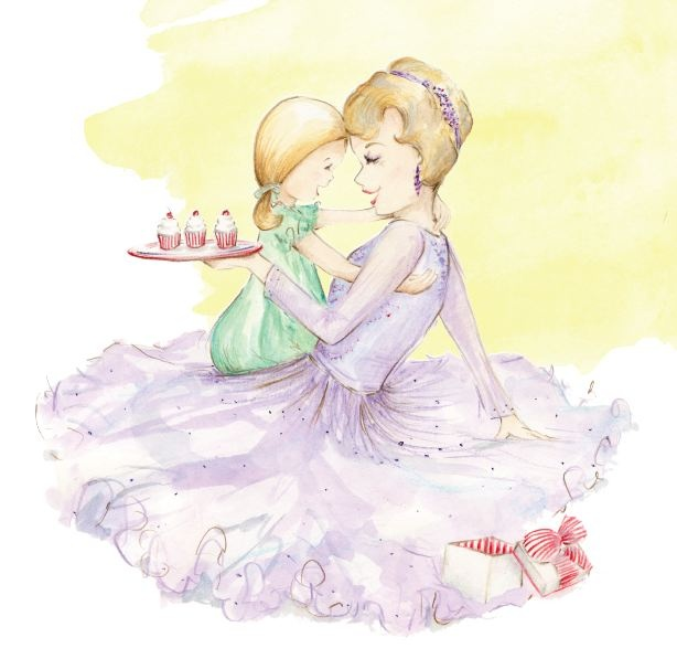 'I Love You 3 Cupcakes' limited edition print available to purchase