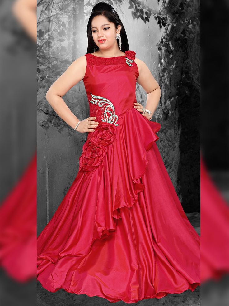 Satin Red Floor Lenght Gown.View more collection at www.g3fashion.com For price or detail do whatsApp +91-9913433322 #fashion#ootd#kidsfashion#kids#kidzootd#instafashion#childrensfashion#kidswear#childrenswear#style#stylish#trendy#babyfashion#babywear#babyboy #Primark #kidswear #babywear #Christmas #gift #Christmasgiftidea