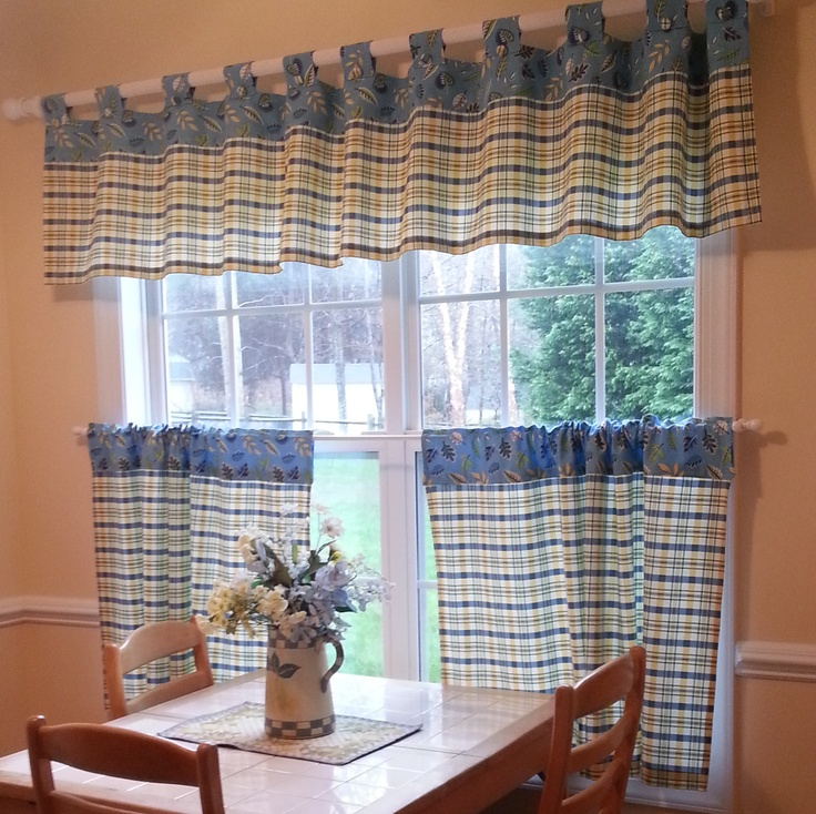Fabric For Kitchen Curtain: 11 Best Images About Kitchen Curtain Ideas On Pinterest