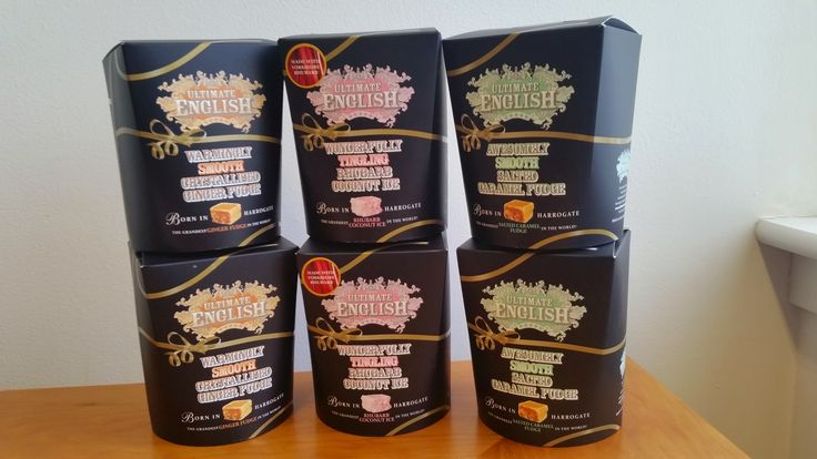 Introducing our BRAND NEW products - rhubarb coconut ice, ginger fudge AND salted caramel fudge!
