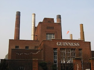 Guinness Brewery, Dublin Ireland-took a tour, Grandpa's brother worked here early 1900