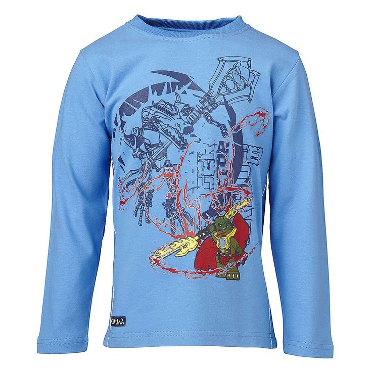 """LEGO® Wear Legends of Chima Kinder Langarm T-Shirt Tristan """"Cragger""""    Cragger ist äußerst ehrgeizig und liebt es zu siegen. Mit diesem Langarm T- Shirt kann sich ihr Sohn auf der sicheren Seite fühlen.     LEGO® Wear Chima Kinder Langarm T-Shirt mit folgenden Besonderheiten:    - Thema: LEGO® Legends of Chima  - super Langarm T-Shirt für Jungen  - Legends of Chima """"Cragger"""" Motiv vorn  - hoch..."""