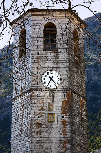 This is my Greece | Bell tower in Tsepelovo village in Zagori region, Epirus