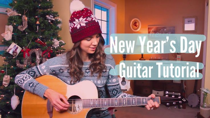 New Year's Day - Taylor Swift Guitar Tutorial // Picking & Strumming