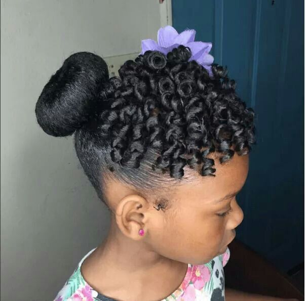 10+ Images About Little Black Girls Hair On Pinterest