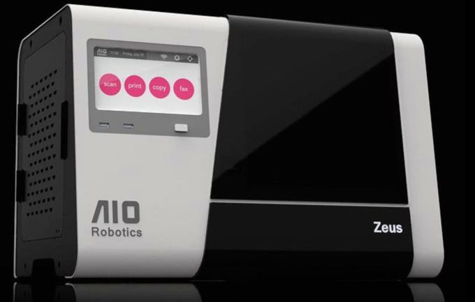 "Zeus Is A 3D Printer, Scanner, And Teleportation Machine All In One: 8"" x 6"" x 6"" area; $2,500; Details."