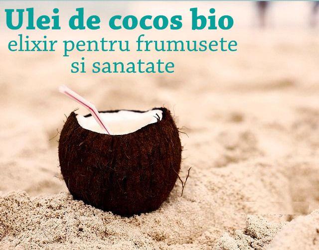 Ulei de cocos - beneficii şi utilizări pentru frumuseţe şi sănătate  http://askher.ro/ulei-de-cocos-bio-elixir-pentru-frumusete-si-sanatate/