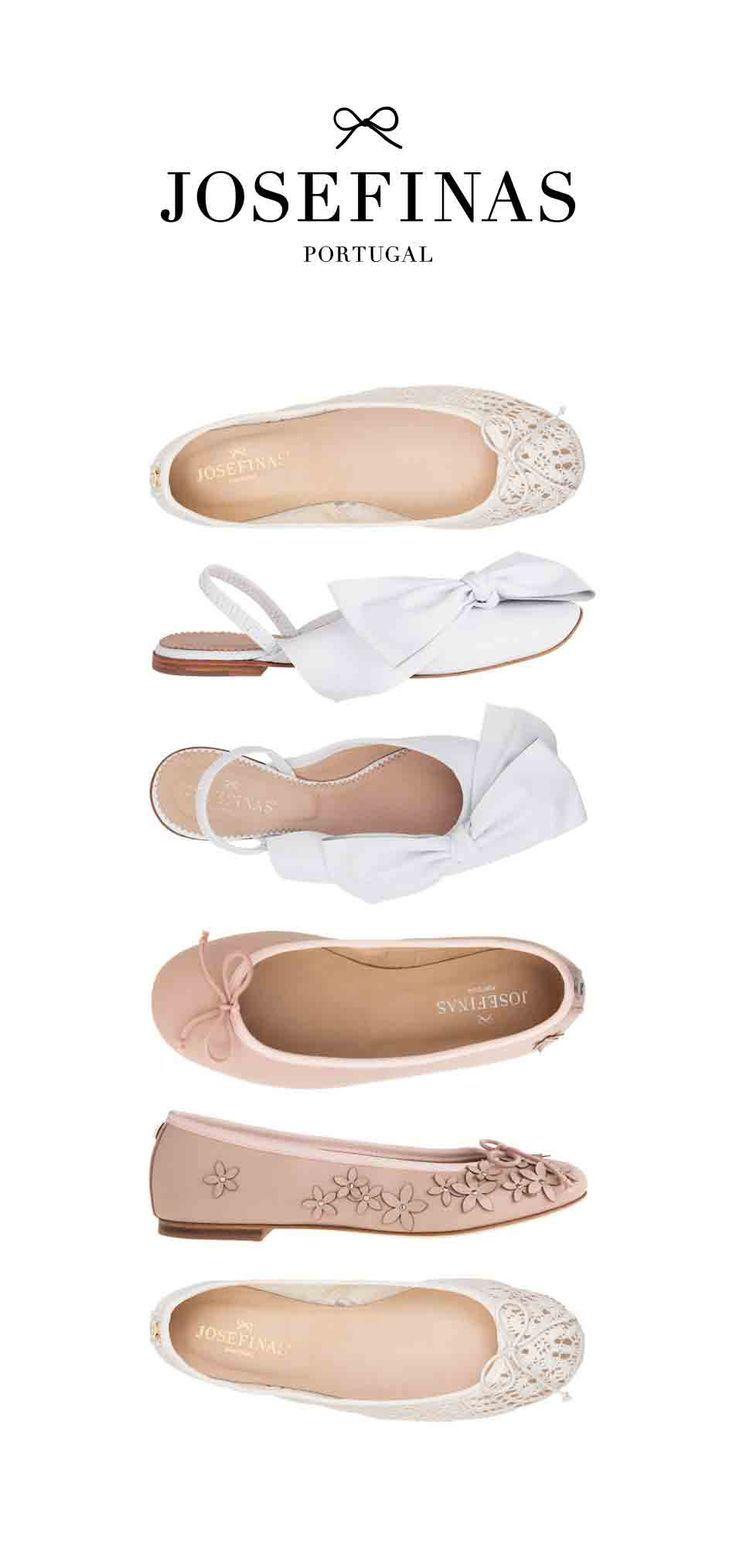 Be the perfect bride with Josefinas! ✨The wedding day, all the details, all the emotions… the bride shoes! You can never be really prepared for this magical day. Regardless the tradition, all brides feel this is a unique day, and we feel the same, especially when a pair of Josefinas shoes are part of it.     @junebugweddings.   bride bridal weddings shoes ballet flats wedding shoes white wedding day