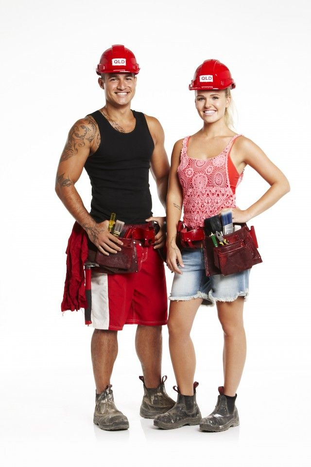 Post House Rules reveal chat with contestants Maddi and Lloyd #houserules #renovating #channel7 #maddiandlloyd