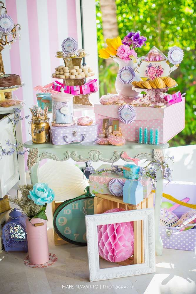 tea party birthday party ideas
