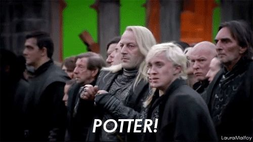 Good for you, Draco.
