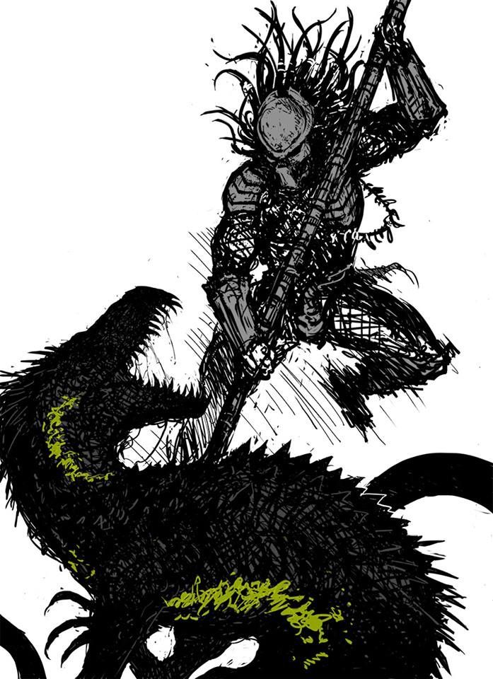 Help you? Predator girl in nuket picture