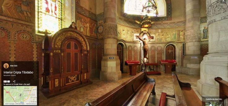 Visita Virtual Cripta del Tibidabo