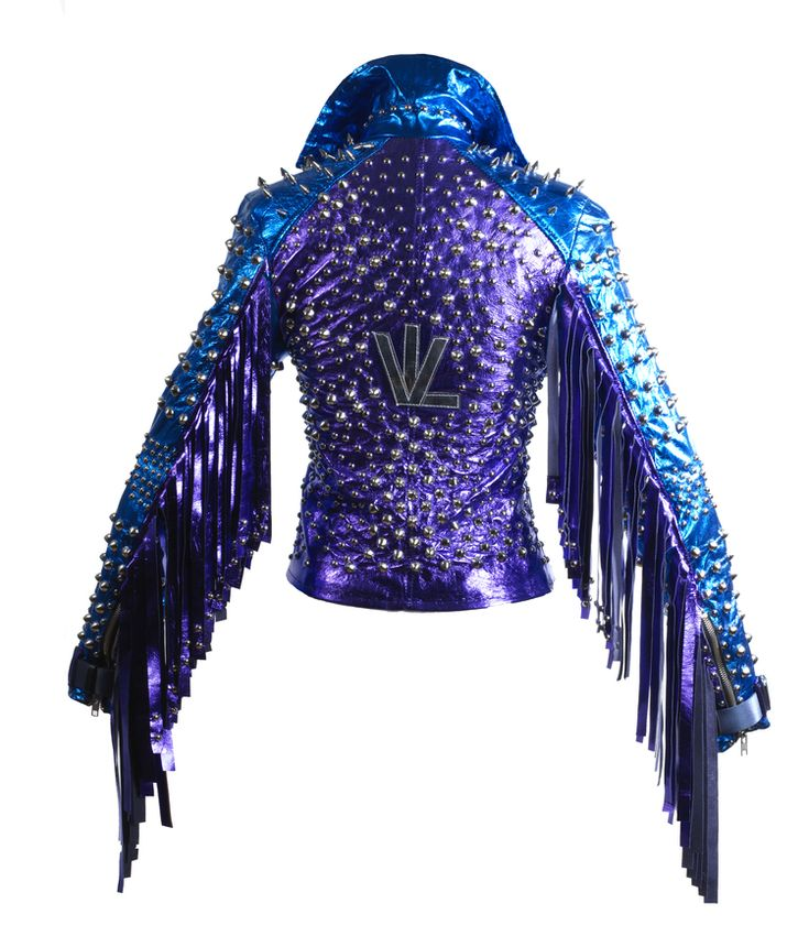 Image result for leather jacket with spikes