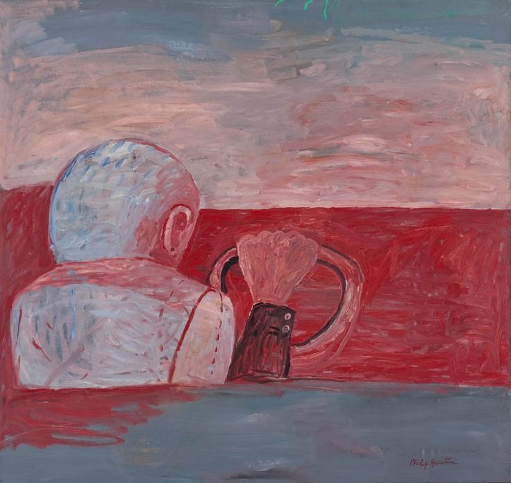 """Driver,"" by Philip Guston"