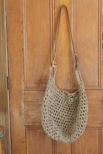 good bag for the plastic bag yarn
