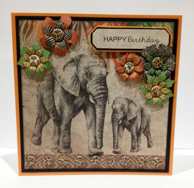 On safari with Craftwork Cards Savannah collection