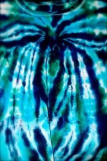 tie dye spider
