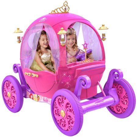24V Disney Princess Carriage - Christmas gift of 2016... This will SELL OUT QUICK! If you've got a little princess of your own, you better get it now. Walmart.com