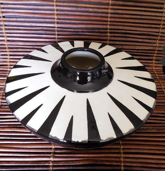 Ceramic Earthenware Southwestern Vase by TerraTreasures on Etsy, $55.00