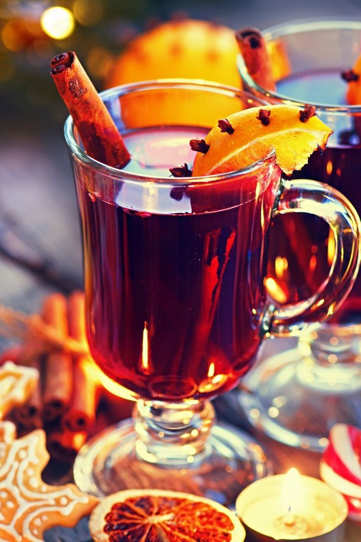 Hot Spiced Christmas Wine Recipe With Oranges Red Wine White Wine Ginger Cinnamon Sticks Cloves Brown Sugar And Wine Recipes Spiced Wine Christmas Wine