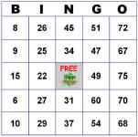 Start here to build customizable Bingo cards. You can make 3x3, 4x4 and 5x5 cards with pictures or numbers. There are MANY themes to choose from. You can also print blank cards. GREAT resource.