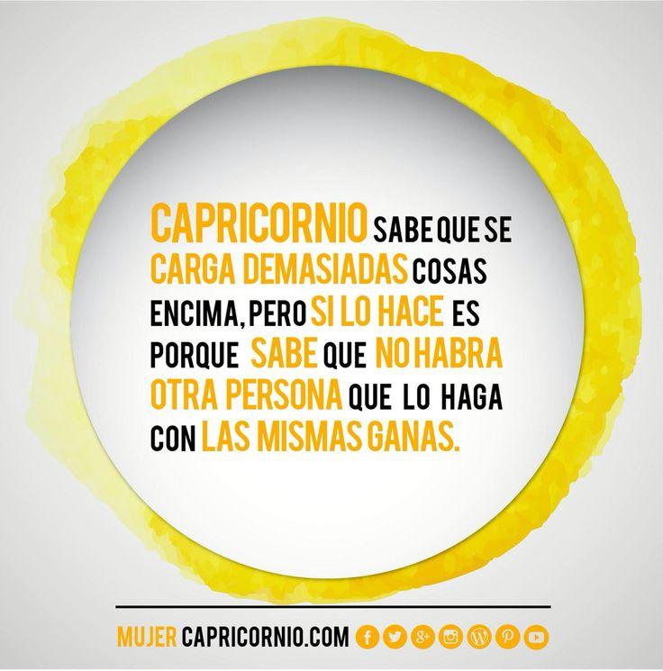 #mujercapricornio #capricornio #frase #asisomos