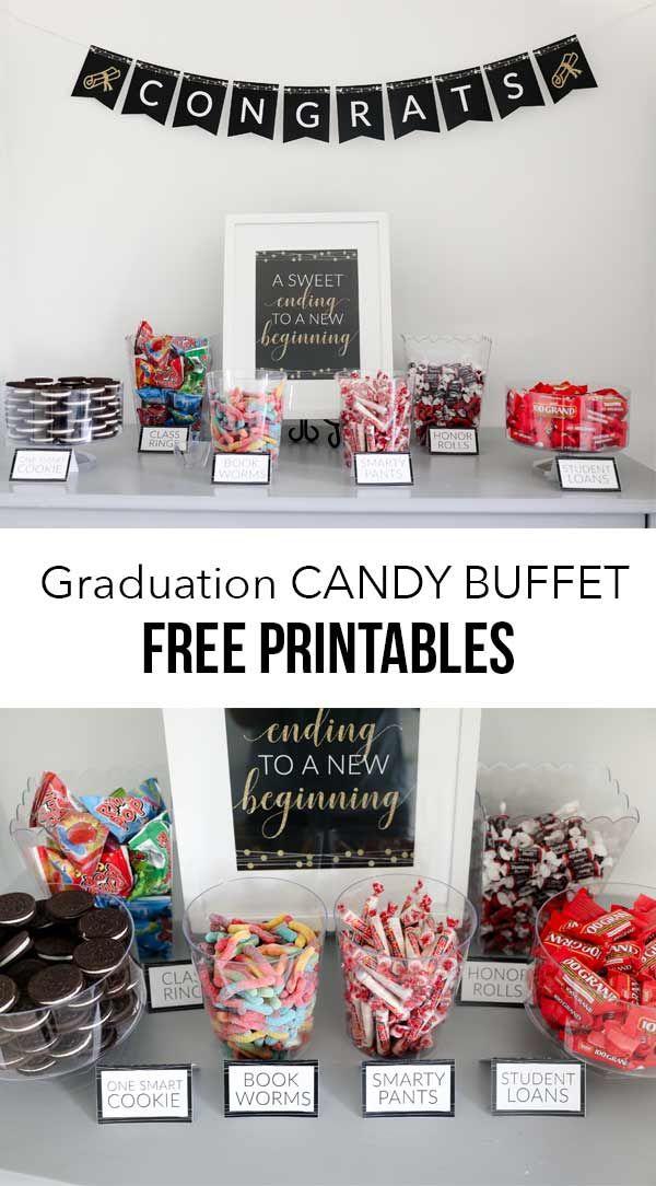 Graduation Candy Buffet – I Heart Naptime