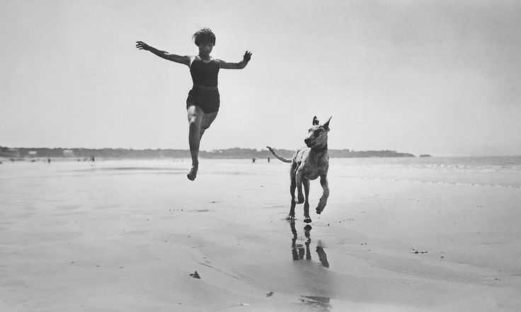 Lartigue was among the first to have a fast enough camera to freeze motion and he used it to fun effect during the turn of the century.