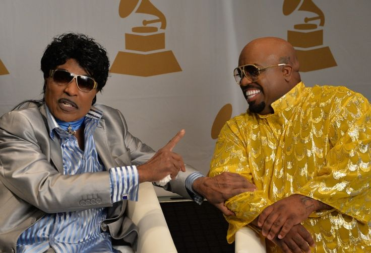 Little Richard sets the record straight with Cee Lo Green�during The Recording Academy Atlanta Chapter's The Legacy Lounge: An Intimate Conversation With Cee Lo Green And His Inspiration, Little Richard event on Sept. 29 in Atlanta�: Photo