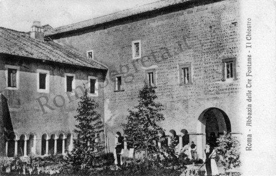 Abbazia delle Tre Fontane 1912
