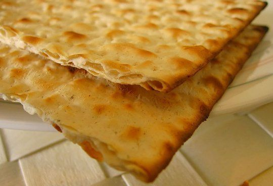 Try This! Homemade Matzo