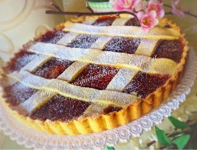 Francy non solo torte: Crostata con confettura di visciole e limone