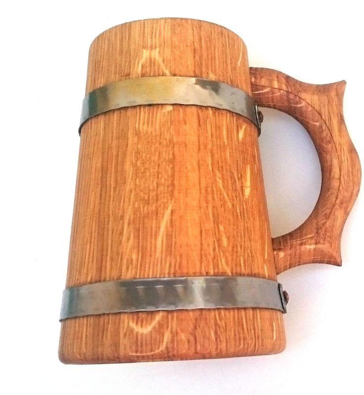 Oak Beer mug. Другие интересные пивные кружки смотрите здесь http://blogosum.com/posts/promo-posuda/