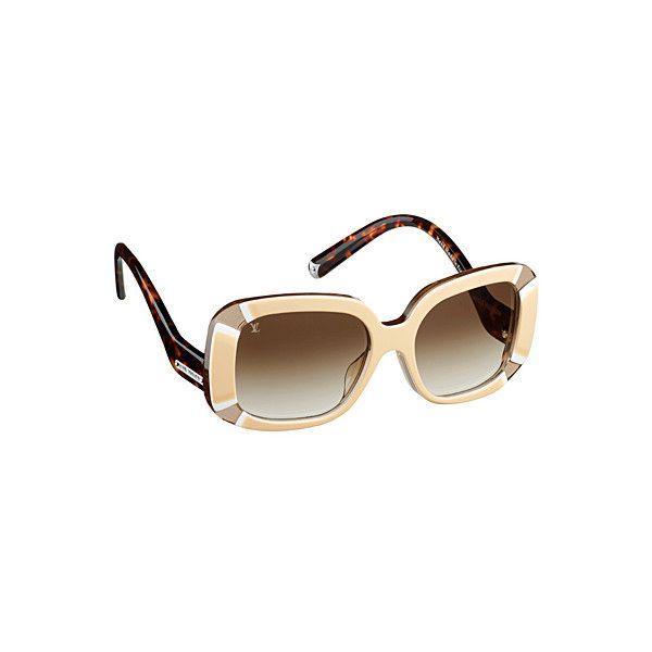 OOOK - Louis Vuitton - Eyewear 2013 Spring-Summer - LOOK 8 |... ❤ liked on Polyvore