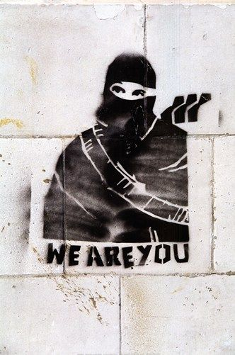 We Are You Art Print by Banksy