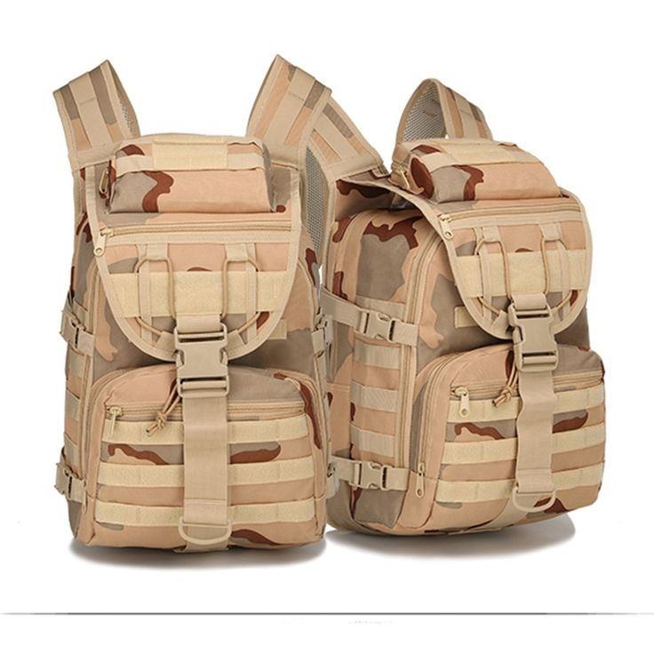 Desert Camouflage Tactical Backpack Outdoor Climbing Camping Hiking Bags X7 40L Hiking Backpack
