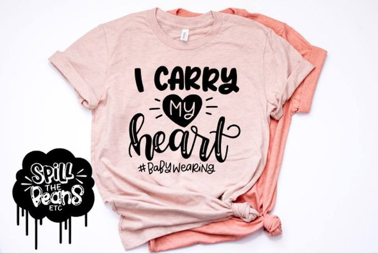 I Carry My Heart Prism Color T-Shirt