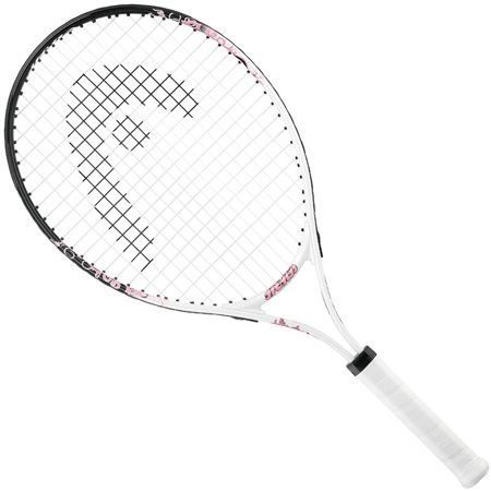 Head G25 Color White/Pink Girl 25'' Junior Tennis Racquet White/Pink by HEAD. $39.95. PRODUCT SPECIFICATIONS String Pattern: 16/19 Colorswhite/PINK Weight220 g (7.8 oz) Beam19 mm (19 mm) Head size680 cm2 (106 sq. inch) Length635 mm (635 mm) SPECIAL NOTES Racquet comes strung. Condition: NEW. Plastic still on handle. Note: We are an authorized dealer: this is an authentic Head racquet.
