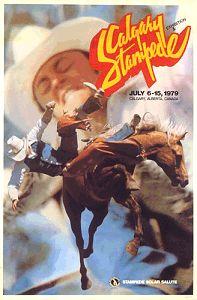 Calgary Stampede poster 1979.. way back! I LOVE Stampede!
