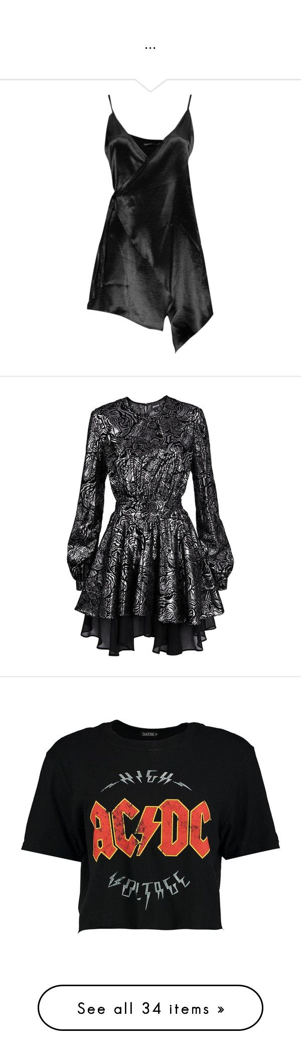 """""""..."""" by luanaloverocks ❤ liked on Polyvore featuring dresses, petite wrap dress, satin cocktail dress, petite cocktail dress, satin wrap dress, asymmetrical dresses, gowns, short dresses, long sleeve lace dress and just cavalli dresses"""